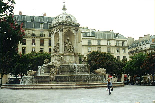 Fontaine Saint Sulpice